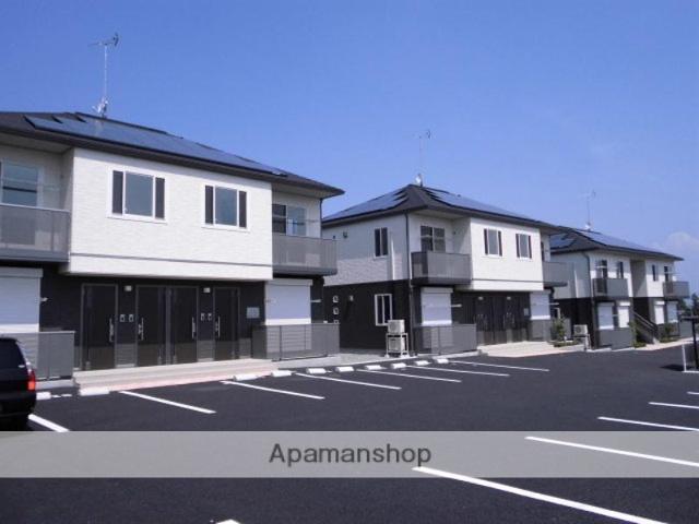 群馬県渋川市、八木原駅徒歩30分の築4年 2階建の賃貸アパート