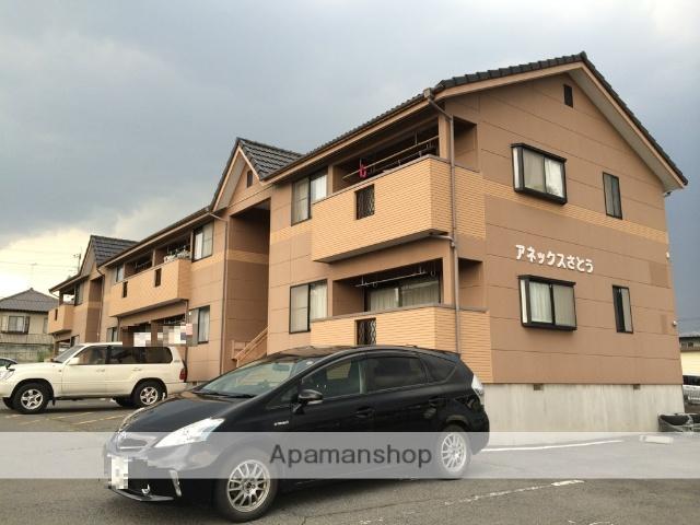 群馬県渋川市、金島駅徒歩67分の築19年 2階建の賃貸アパート