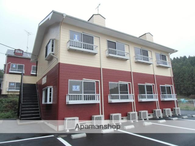 群馬県渋川市、渋川駅徒歩38分の築24年 2階建の賃貸アパート