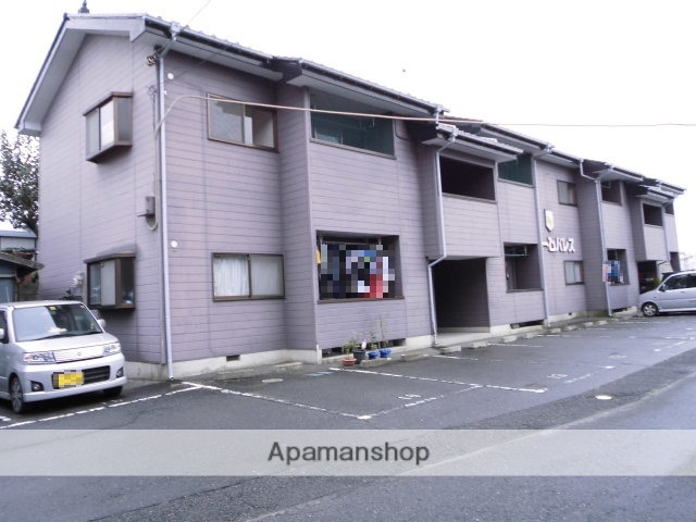 群馬県前橋市、前橋駅日本中央バスバス26分富士見役場前下車後徒歩4分の築23年 2階建の賃貸アパート