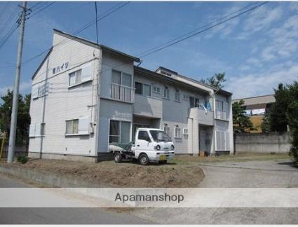 群馬県渋川市、八木原駅徒歩53分の築30年 2階建の賃貸アパート