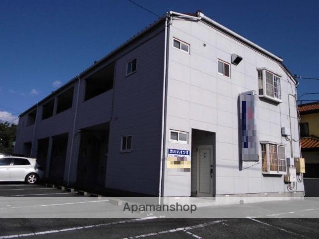 群馬県前橋市、中央前橋駅徒歩52分の築28年 2階建の賃貸アパート