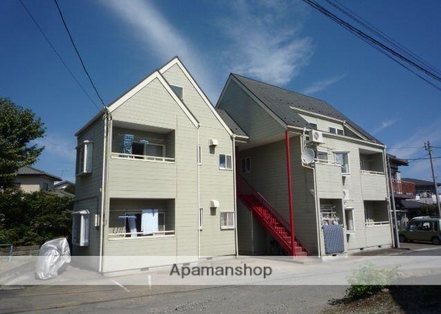 群馬県渋川市、八木原駅徒歩24分の築27年 2階建の賃貸アパート