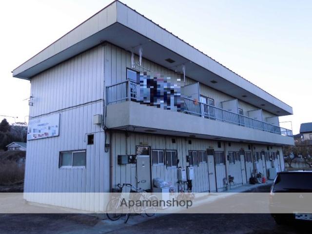 群馬県渋川市、渋川駅徒歩20分の築35年 2階建の賃貸アパート