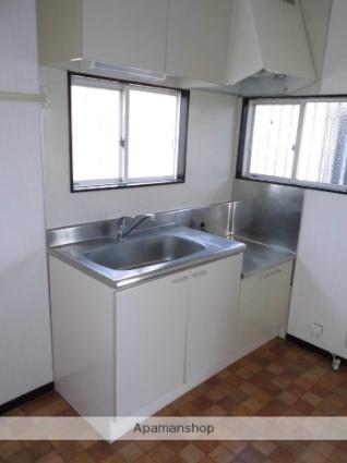 群馬県渋川市半田[2DK/39.8m2]のキッチン
