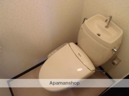 群馬県渋川市半田[2DK/39.8m2]のトイレ