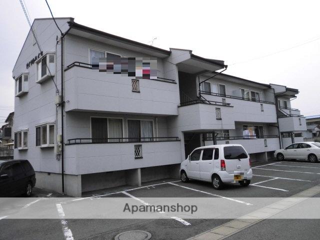 群馬県渋川市、渋川駅徒歩8分の築25年 2階建の賃貸アパート