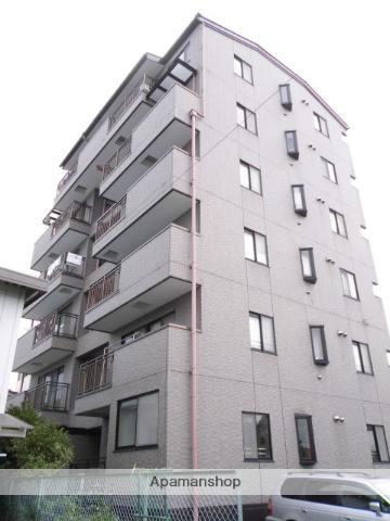 群馬県渋川市、渋川駅徒歩14分の築23年 6階建の賃貸マンション