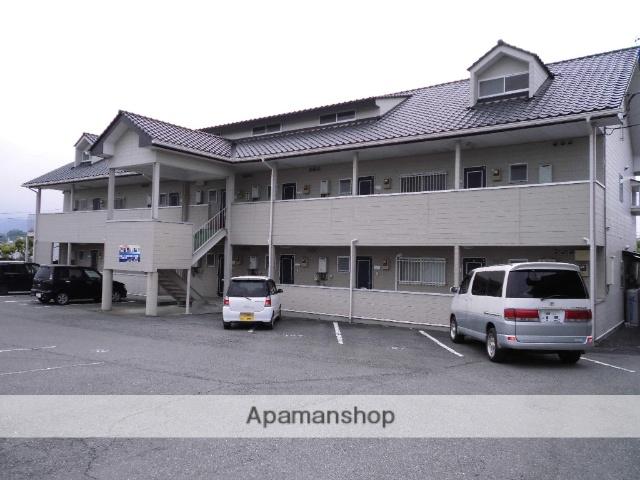 群馬県渋川市、金島駅徒歩45分の築24年 2階建の賃貸アパート