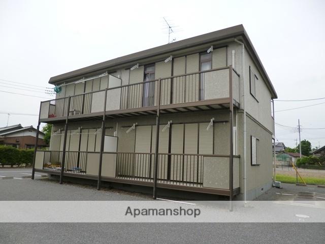 群馬県邑楽郡邑楽町、本中野駅徒歩3分の築18年 2階建の賃貸アパート