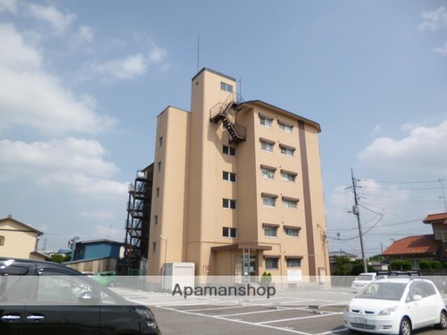 群馬県太田市、木崎駅徒歩35分の築40年 6階建の賃貸マンション