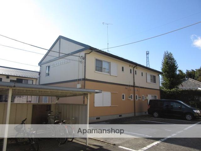 群馬県太田市、木崎駅徒歩10分の築23年 2階建の賃貸アパート