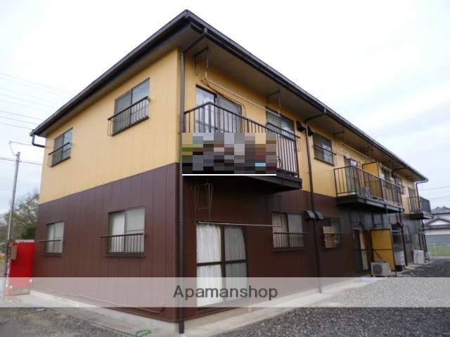 群馬県太田市、世良田駅徒歩70分の築30年 2階建の賃貸アパート
