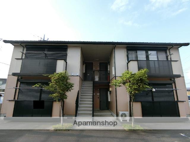 群馬県邑楽郡邑楽町の築19年 2階建の賃貸アパート