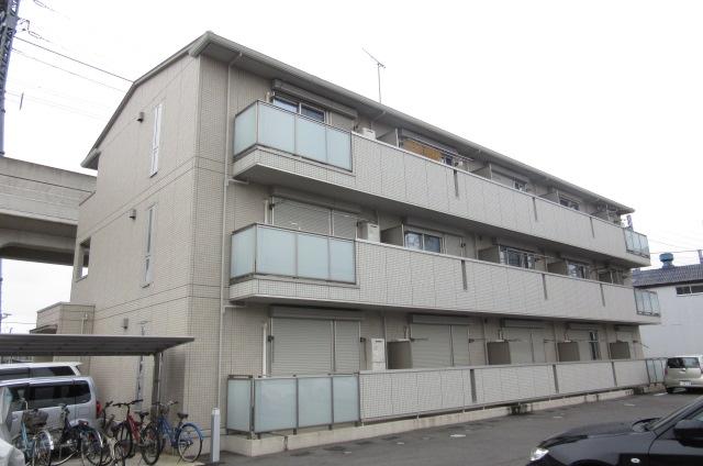 群馬県太田市、太田駅徒歩10分の築6年 3階建の賃貸アパート