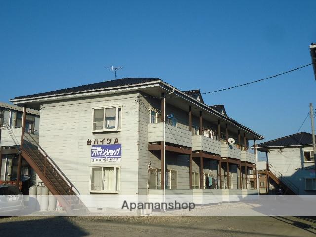 群馬県太田市、野州山辺駅徒歩15分の築23年 2階建の賃貸アパート