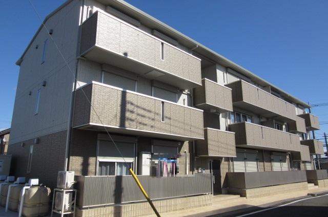 群馬県邑楽郡大泉町、東小泉駅徒歩19分の築2年 3階建の賃貸アパート