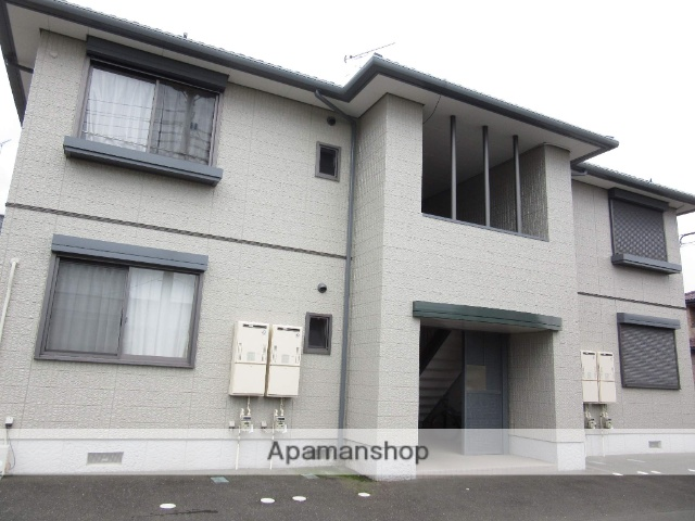 群馬県太田市、木崎駅徒歩15分の築14年 2階建の賃貸アパート