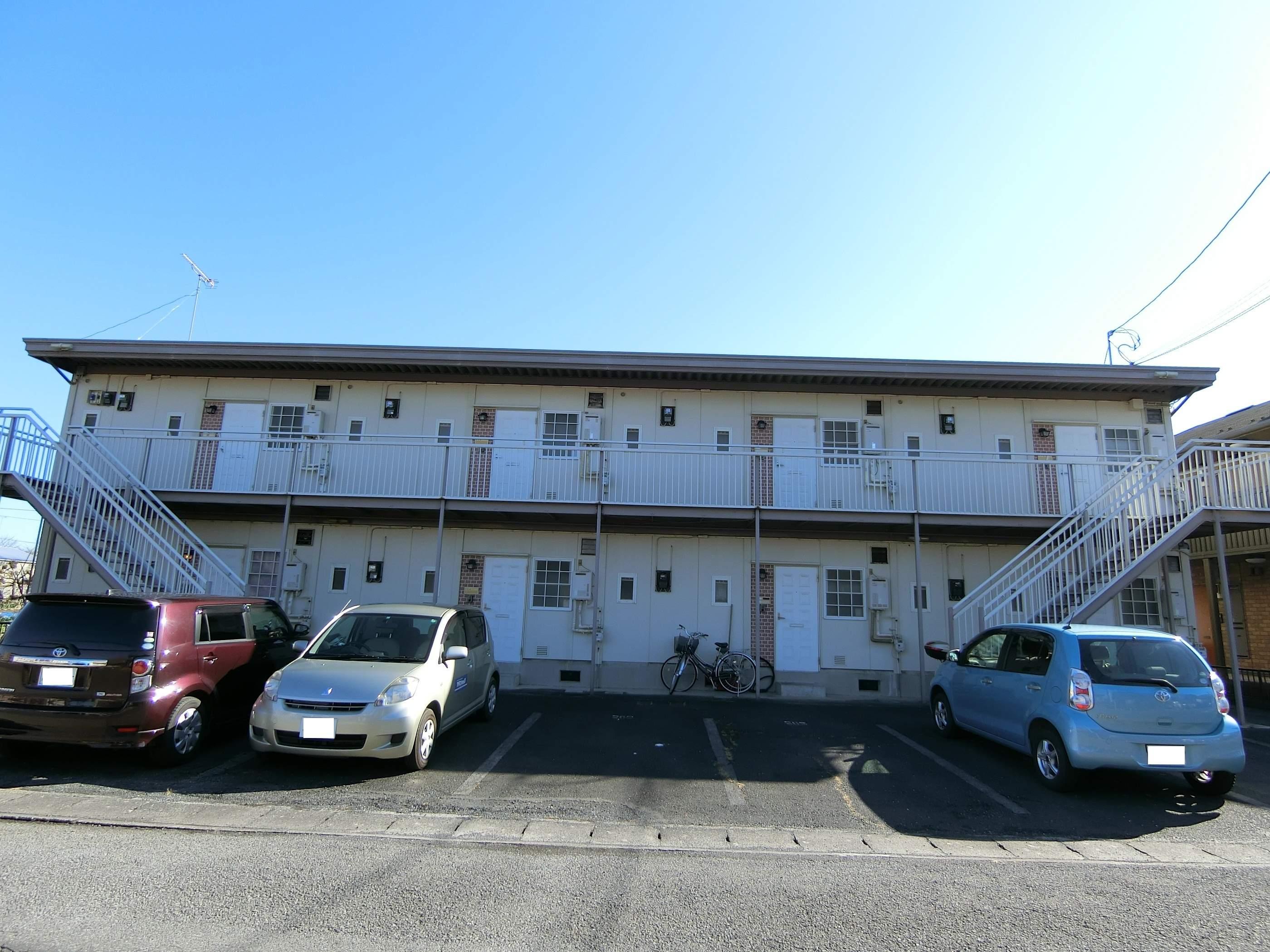 群馬県太田市、韮川駅徒歩27分の築27年 2階建の賃貸アパート