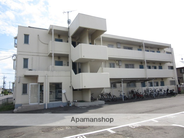 群馬県太田市、細谷駅徒歩31分の築26年 3階建の賃貸マンション