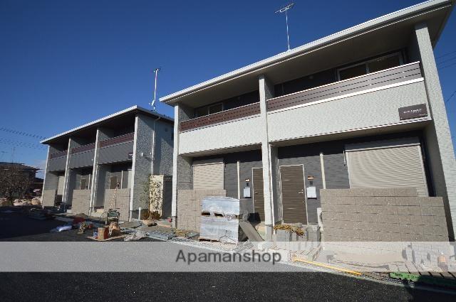 群馬県太田市、細谷駅徒歩30分の築2年 2階建の賃貸アパート