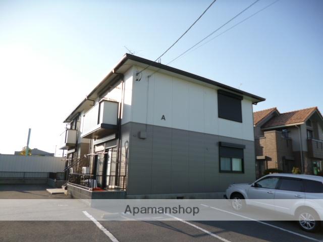 群馬県太田市、西小泉駅徒歩32分の築19年 2階建の賃貸アパート