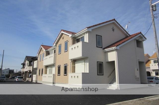 群馬県太田市、西小泉駅徒歩28分の築2年 2階建の賃貸アパート
