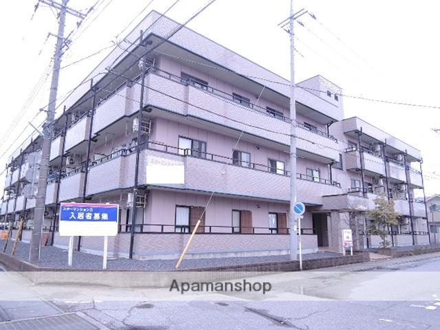 群馬県太田市、太田駅徒歩28分の築17年 3階建の賃貸マンション
