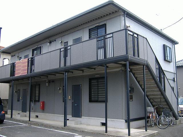 群馬県館林市の築20年 2階建の賃貸アパート