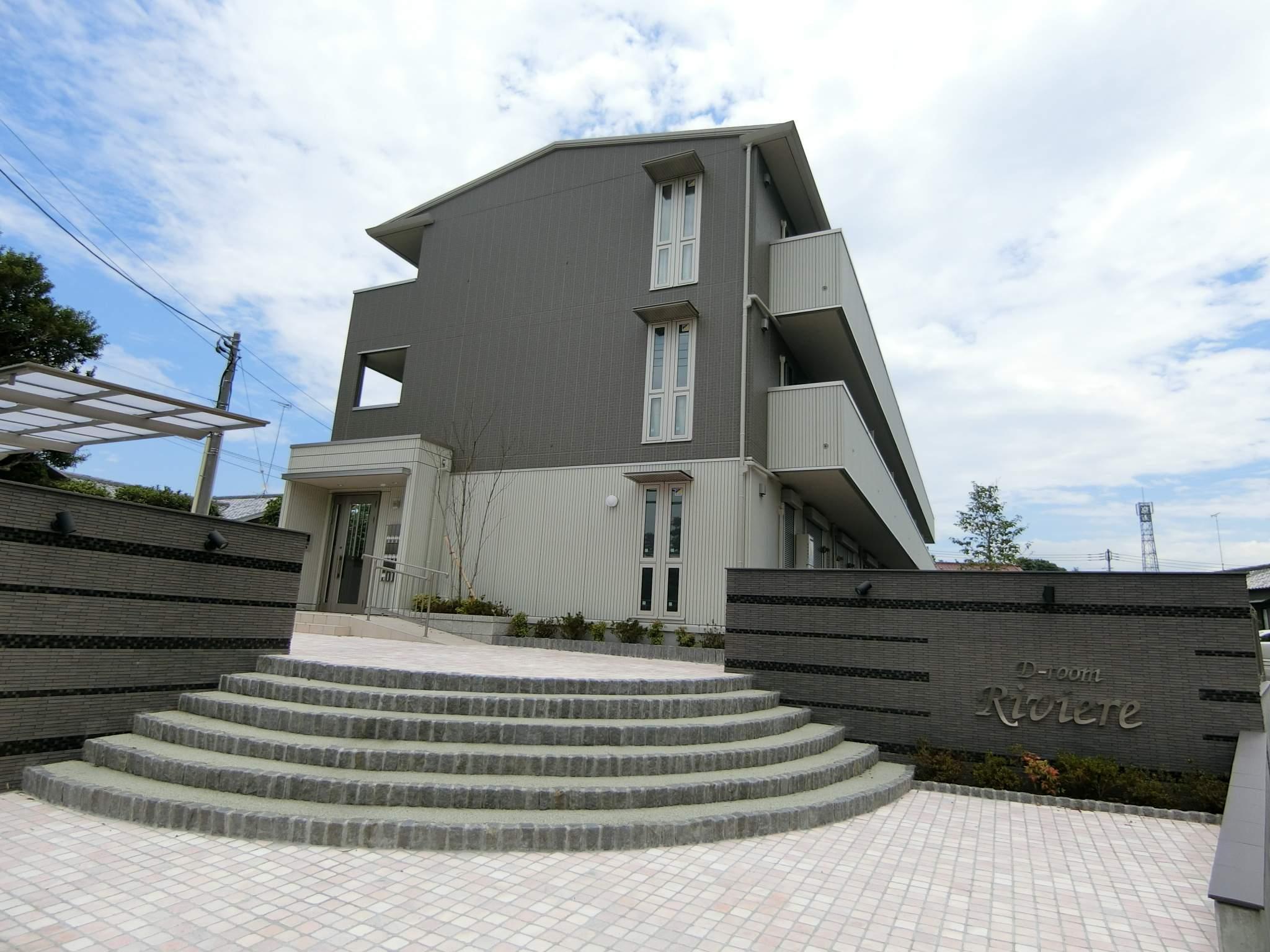 群馬県館林市、川俣駅徒歩27分の新築 3階建の賃貸アパート