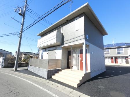 群馬県太田市、韮川駅徒歩15分の新築 2階建の賃貸アパート