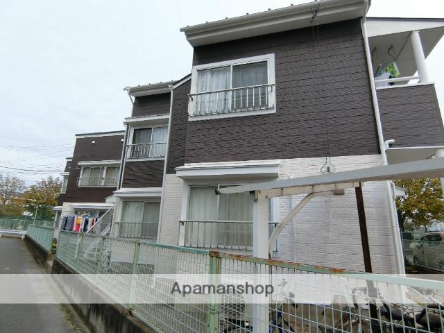 群馬県太田市、韮川駅徒歩8分の築30年 2階建の賃貸アパート