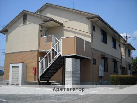 群馬県館林市、茂林寺前駅徒歩3分の築22年 2階建の賃貸アパート