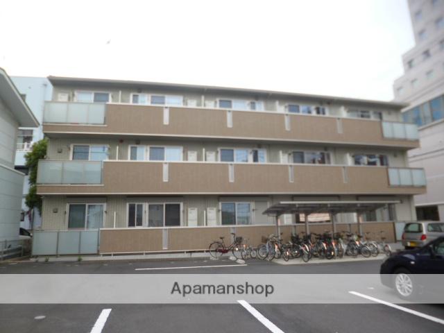 群馬県太田市、太田駅徒歩3分の築6年 3階建の賃貸アパート