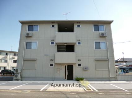 群馬県太田市、細谷駅徒歩27分の築5年 3階建の賃貸アパート