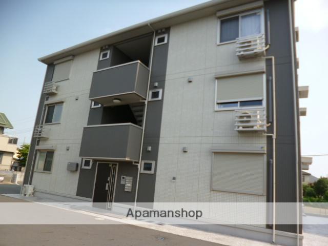 群馬県太田市、太田駅徒歩23分の築4年 3階建の賃貸アパート