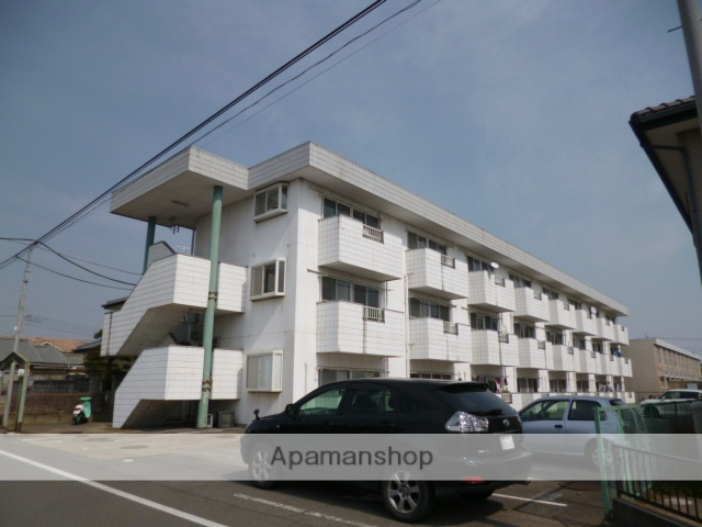 群馬県太田市、木崎駅徒歩23分の築27年 3階建の賃貸マンション