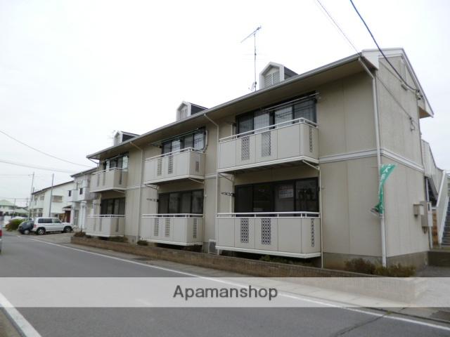 群馬県館林市、茂林寺前駅徒歩7分の築24年 2階建の賃貸アパート