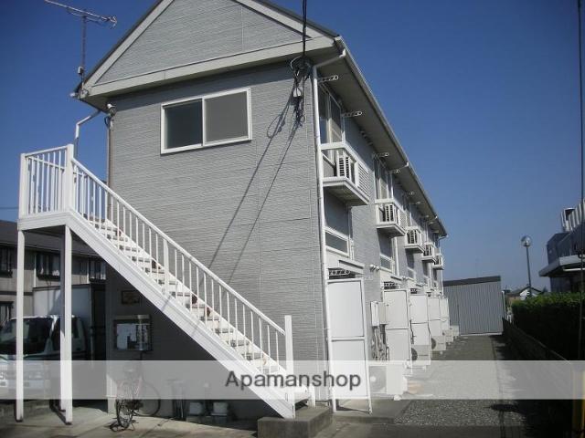 群馬県太田市、太田駅徒歩43分の築19年 2階建の賃貸アパート