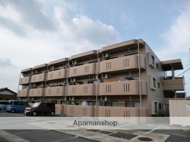 群馬県太田市、太田駅徒歩40分の築19年 3階建の賃貸マンション