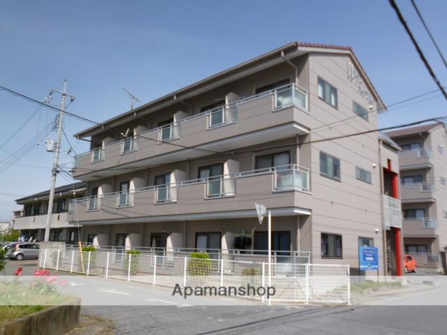 群馬県太田市、太田駅徒歩30分の築25年 3階建の賃貸アパート