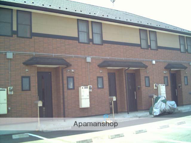 群馬県太田市の築17年 2階建の賃貸アパート