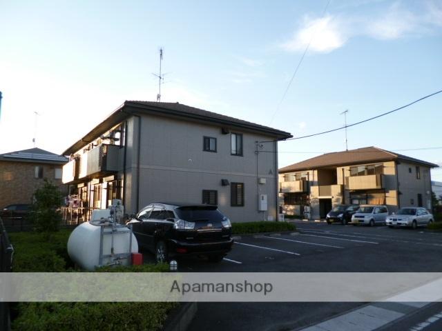 群馬県太田市、太田駅徒歩45分の築15年 2階建の賃貸アパート
