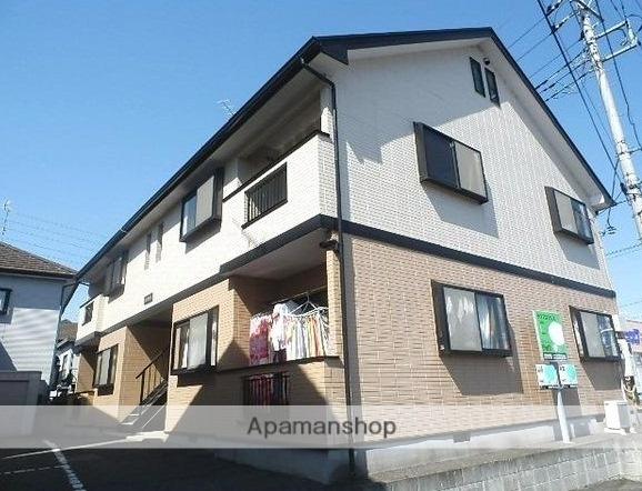 群馬県太田市、竜舞駅徒歩10分の築20年 2階建の賃貸アパート