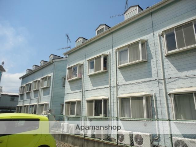 群馬県太田市、細谷駅徒歩20分の築25年 2階建の賃貸アパート