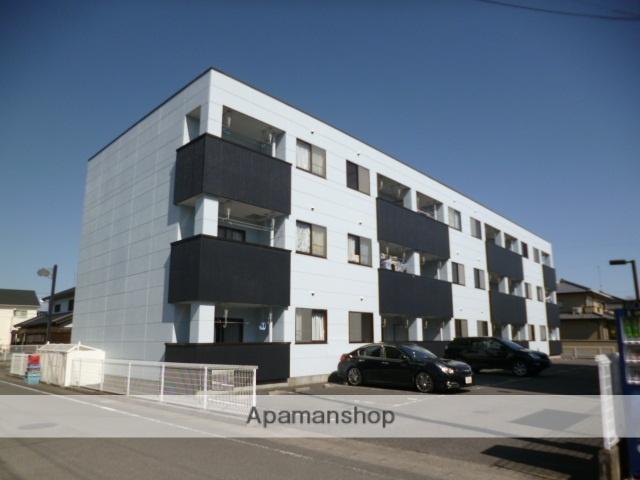 群馬県太田市、小泉町駅徒歩26分の築22年 3階建の賃貸マンション