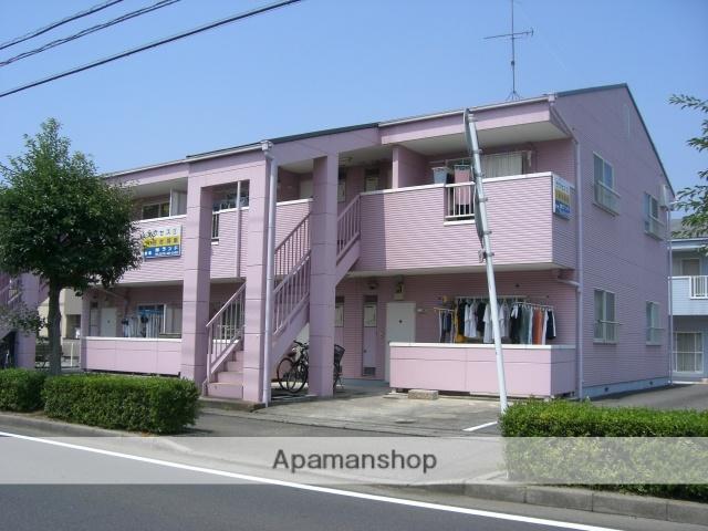 群馬県太田市、竜舞駅徒歩5分の築25年 2階建の賃貸アパート