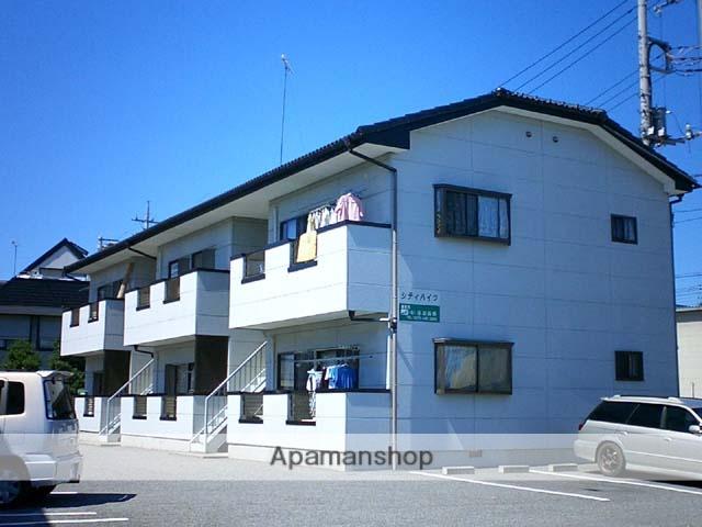 群馬県太田市、細谷駅徒歩18分の築25年 2階建の賃貸アパート
