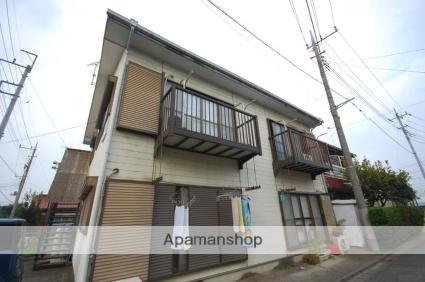 群馬県高崎市、倉賀野駅徒歩5分の築28年 2階建の賃貸アパート