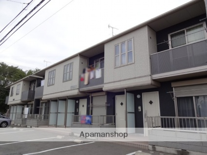 群馬県高崎市、新町駅徒歩15分の築7年 2階建の賃貸アパート